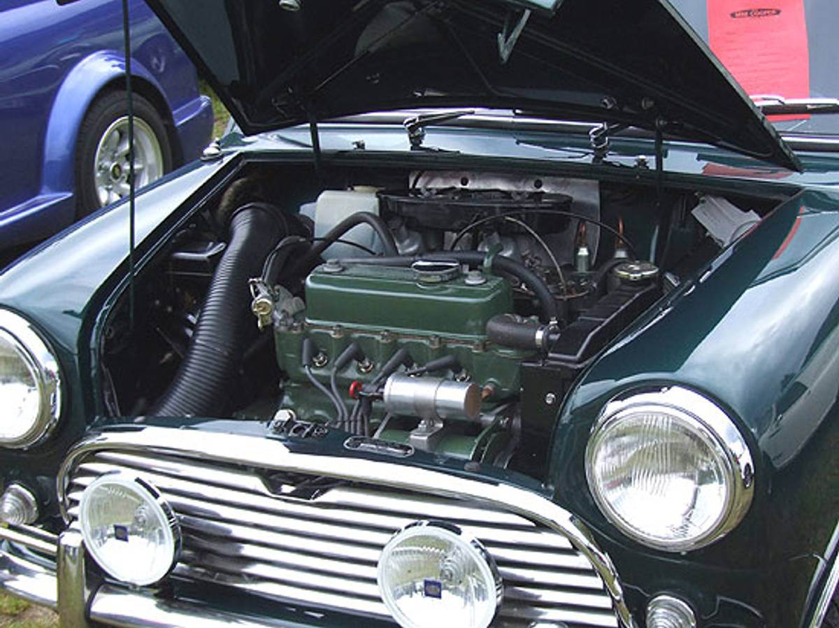 Motormaling - grønn (sprayboks)